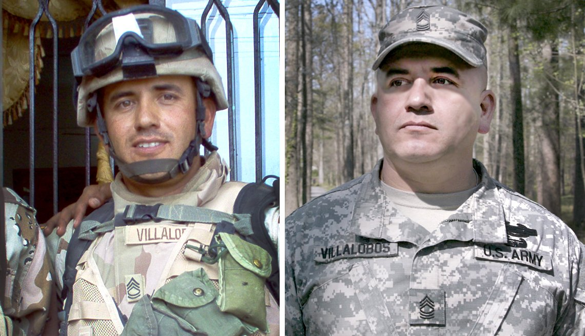 Gary Villalobos was in the battle of Tal Afar during the Iraq War
