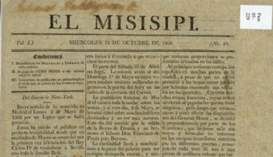 Periódico El Misisipi