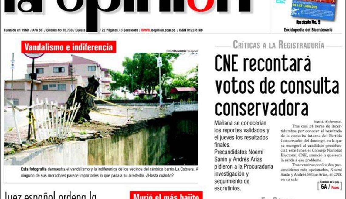 Periódico La Opinión