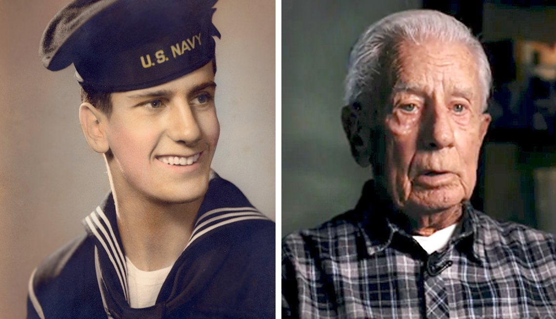 Philip Hollywood fought in Battle of Surigao Strait during World War II