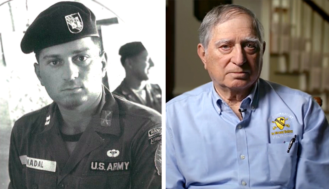 Tony Nadal fought in the battle of Ia Drang while in the Vietnam war