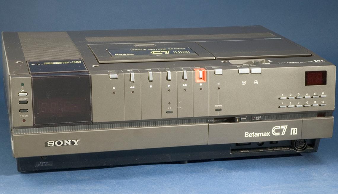 Videocasetera Betamax