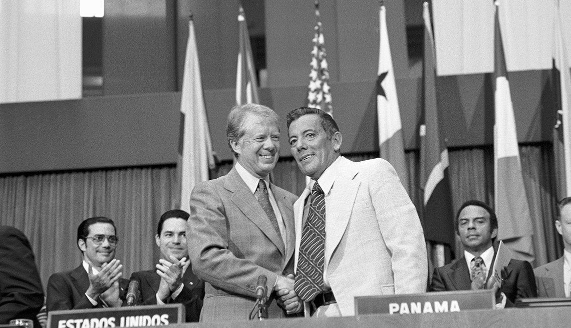 Tratado del Canal de Panamá: Jimmy Carter y Omar Torrijos