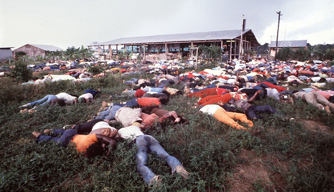 Jonestown: el mayor suicidio colectivo de la historia