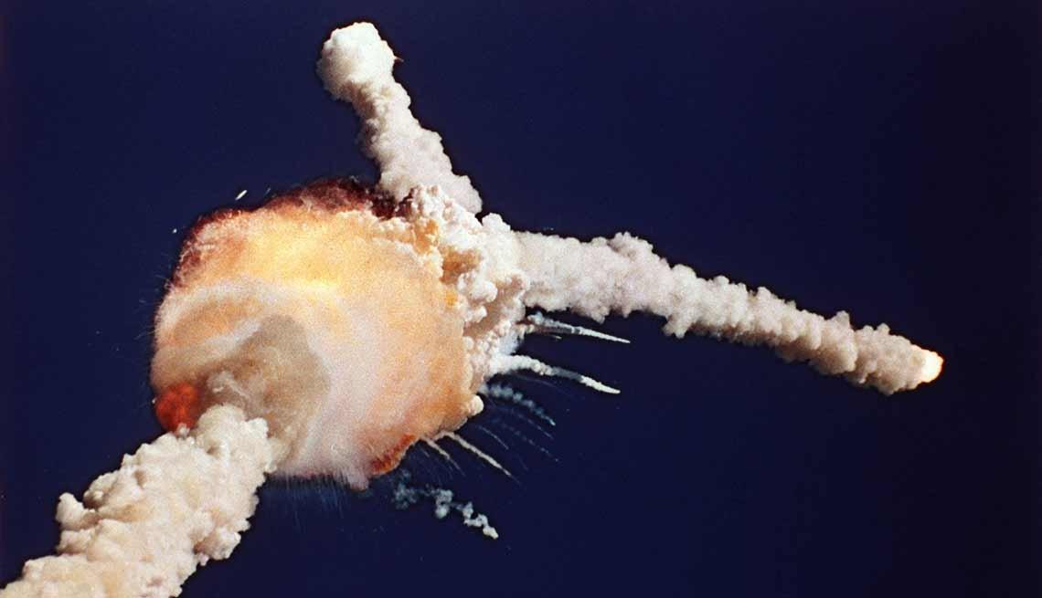 Explosión del transbordador espacial Challenger