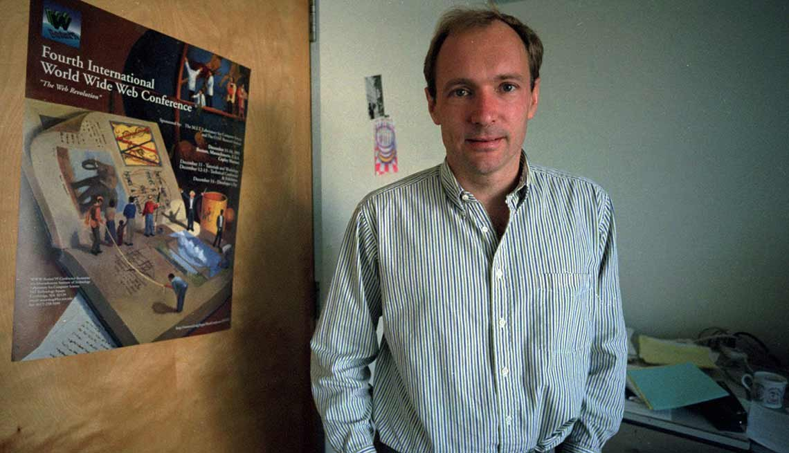 Tim Berners-Lee, creador de la world wide web