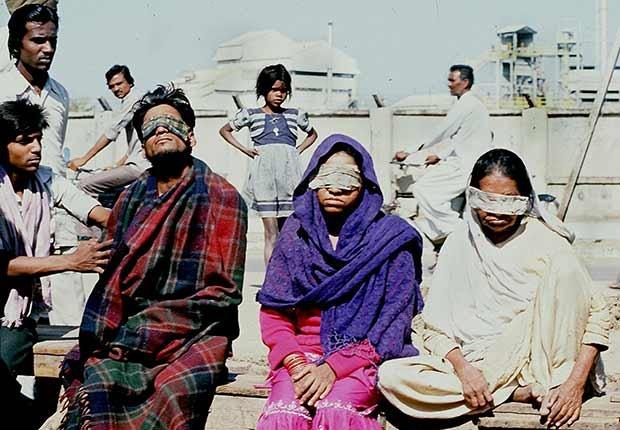 Enevenenamiento con gas en India