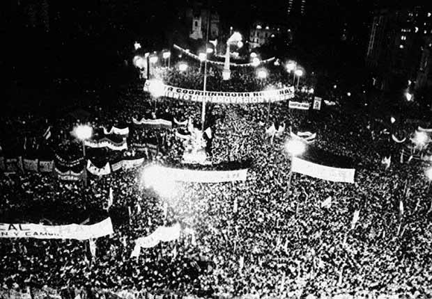 Celebración de la democracia en Argentina