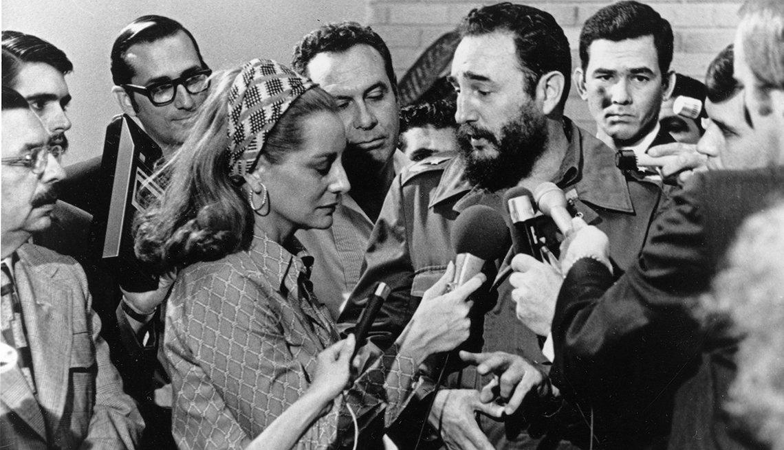 Fidel Castro ante la prensa
