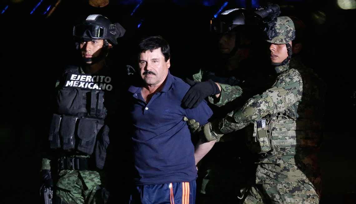 Recaptura de Joaquín 'El Chapo' Guzmán
