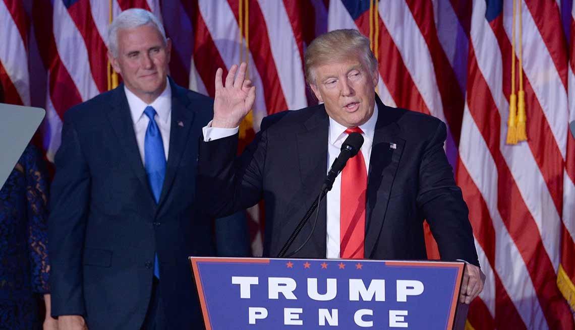 Donald Trump es elegido como presidente de Estados Unidos