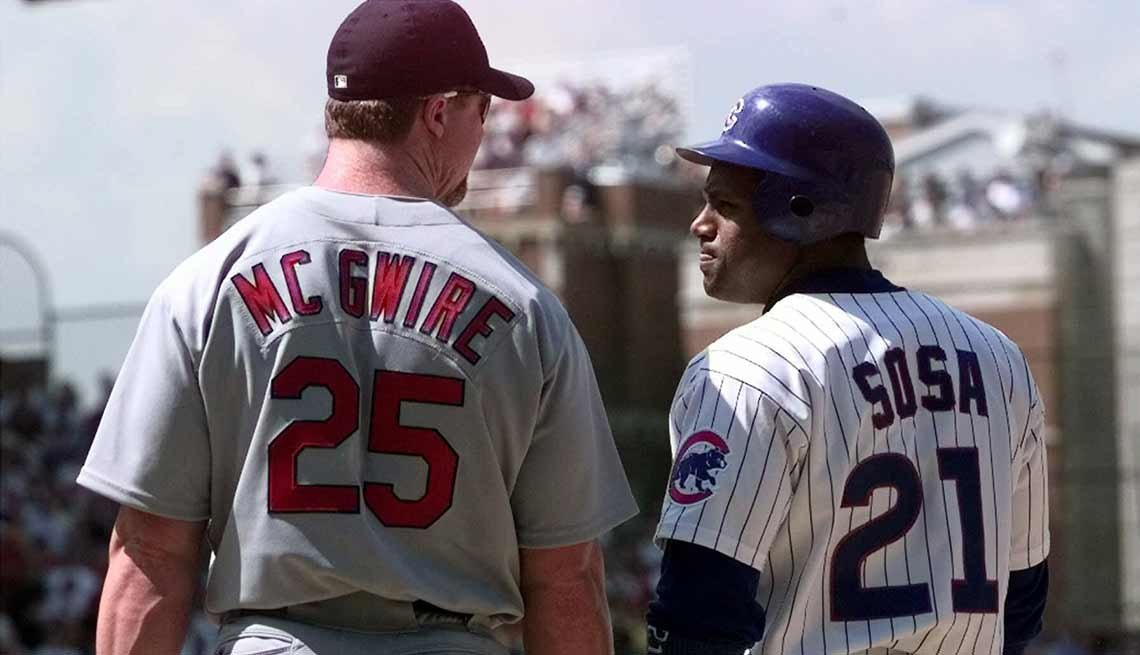 Mark McGwire y Sammy Sosa