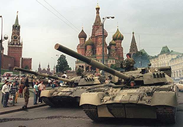 El colapso de la Unión Soviética