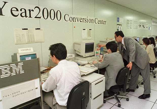 Y2K - Crisis tecnológica con la llegada del nuevo milenio