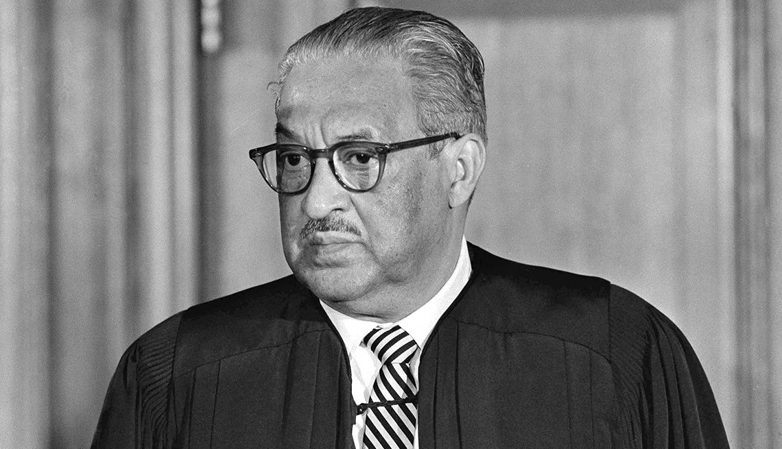 1967 the year of change, Supreme Court Justice Thurgood Marshall