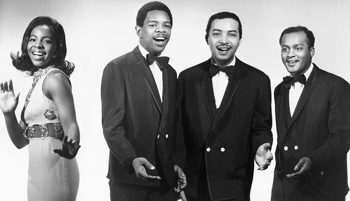 12 R&B Hits Still Applauded 50 Years Later - Gladys Knight and the Pips