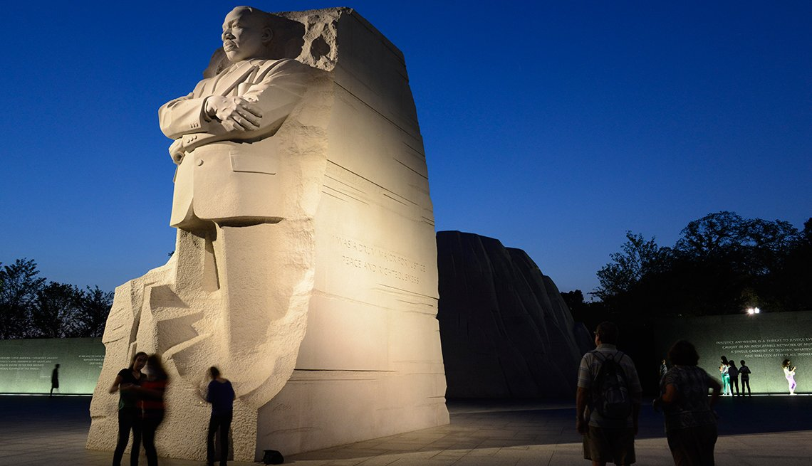 Monumento a Martin Luther King Jr. en Washington, D.C.
