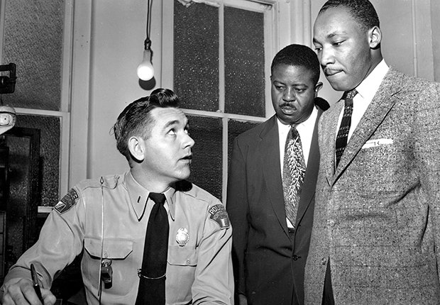 Martin Luther King Jr. ante la ley