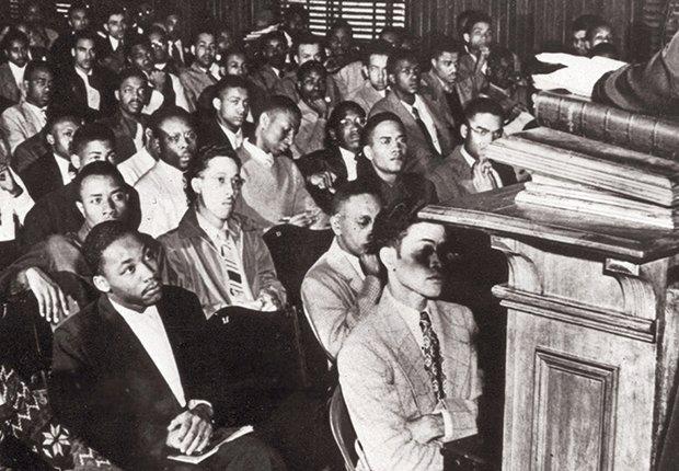 Congregación en una iglesia