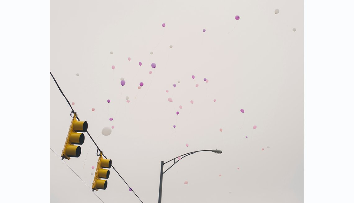 Selma to Montgomery, balloon release