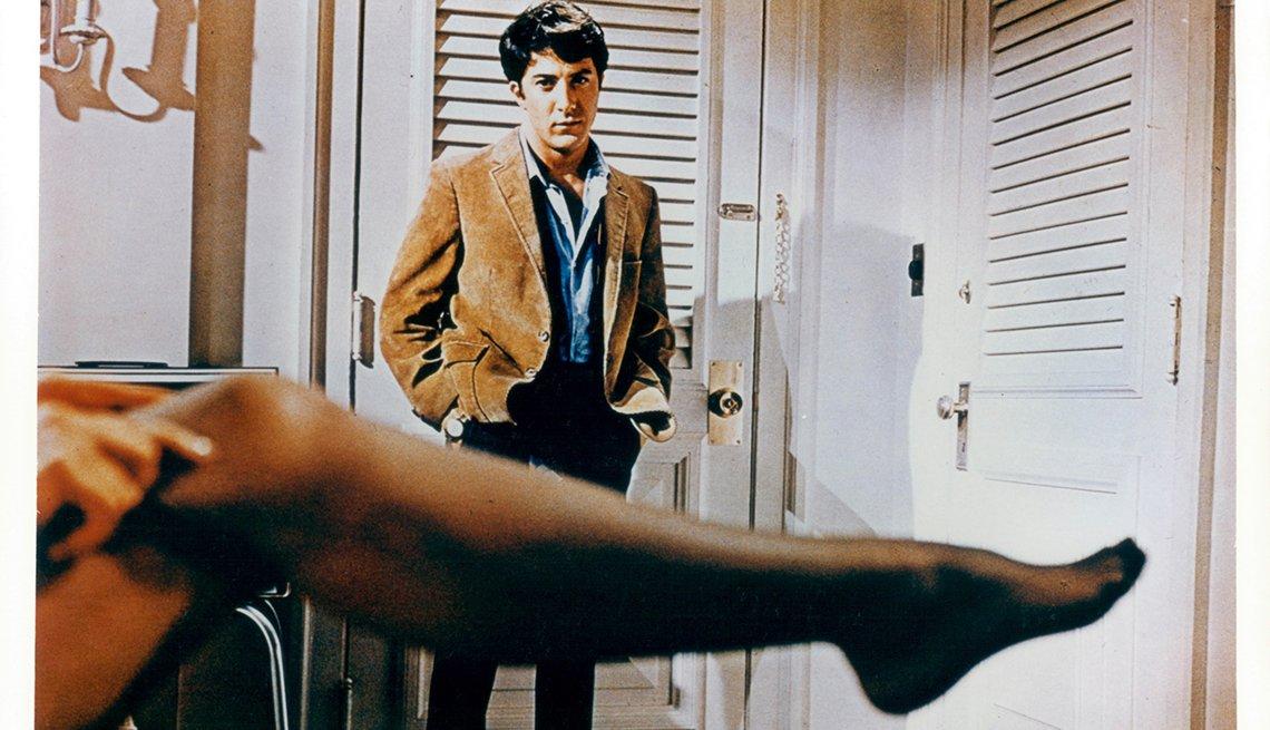 Dustin Hoffman en una escena de la película 'The Graduate'