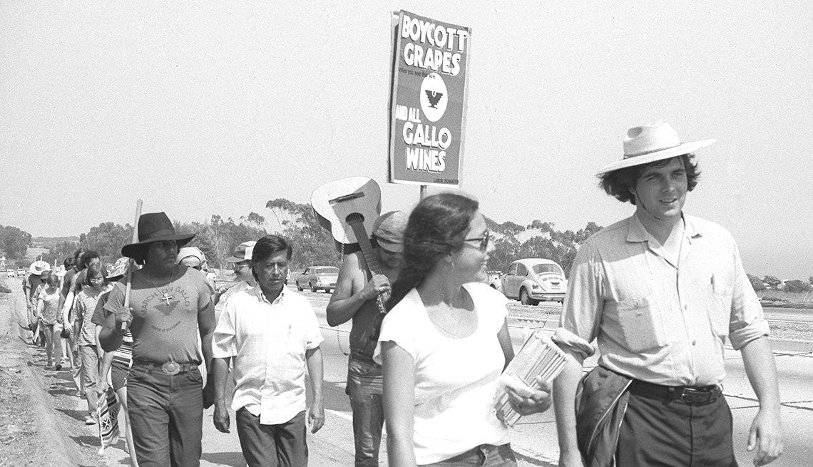 La Marcha de las 1000 Millas del sindicato United Farm Workers