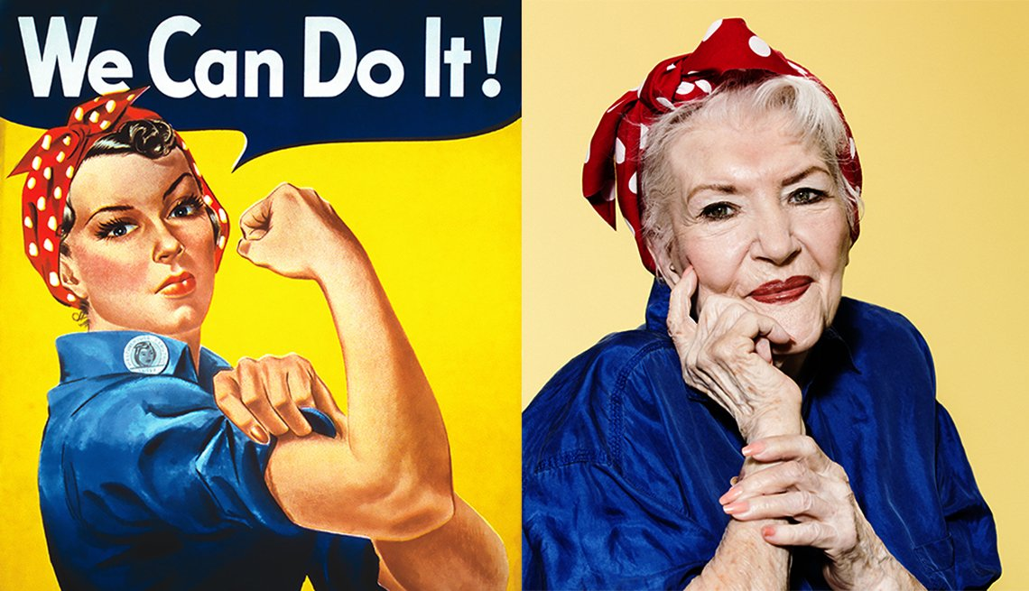 Naomi Parker-Fraley was the original inspiration for Rosie the Riveter poster