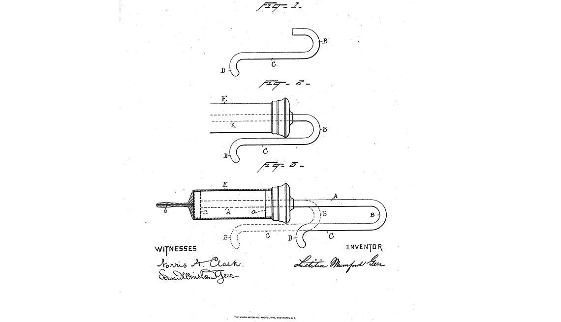 Inventos de mujeres - Letitia Geer
