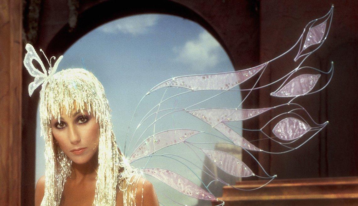 Iconos de la música disco, retrato de Cher