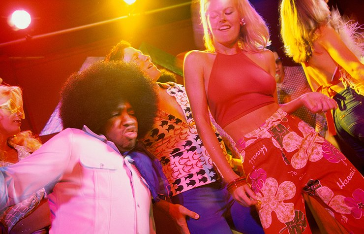 Iconos de la música disco, imagen de la moda durante la época disco.