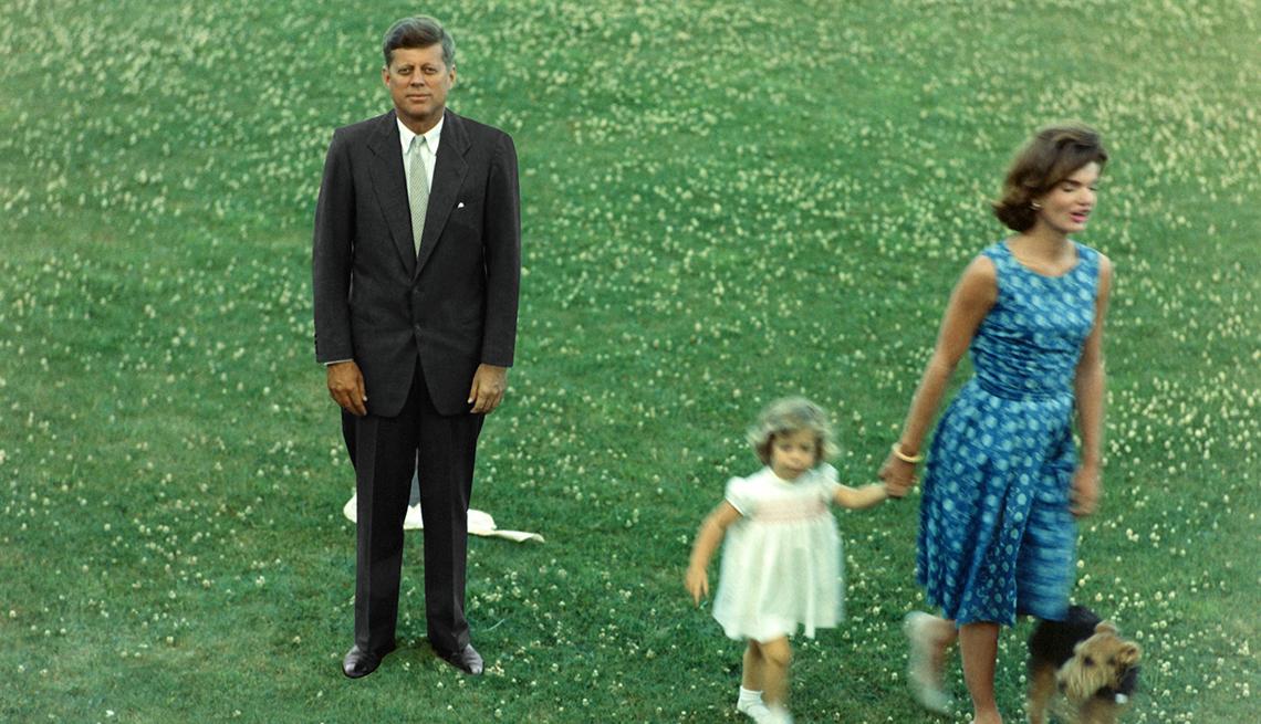 Los Kennedy antes de la Convención Nacional Demócrata en julio de 1960