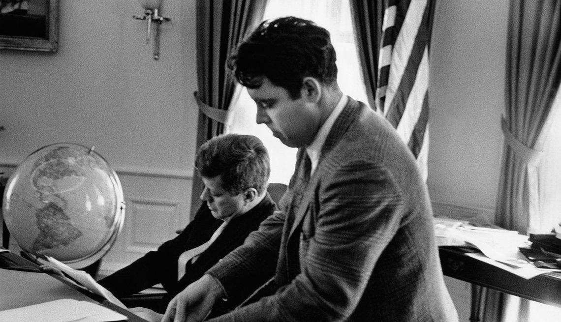 Jacques Lowe trabajó como fotógrafo de la campaña presidencial de John F. Kennedy