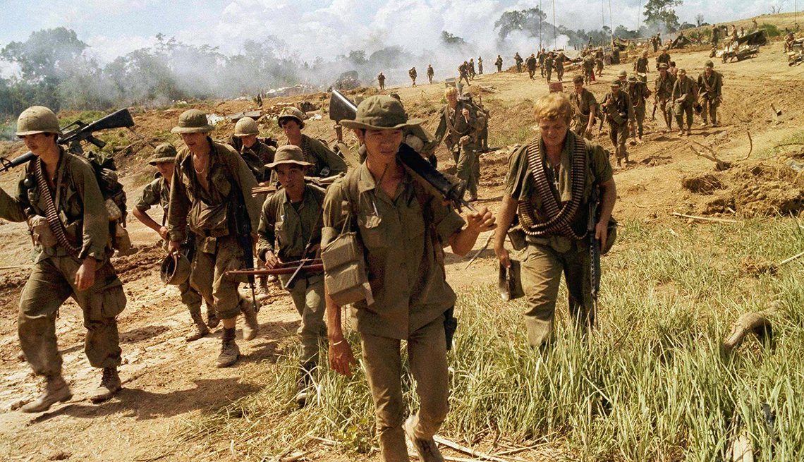 American Soldiers March, Cambodian Invasion, Vietnam: The War That Changed Everything