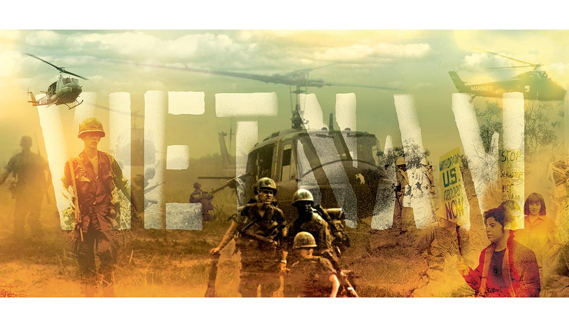 Logo graphic, banner, Vietnam: The War That Changed Everything