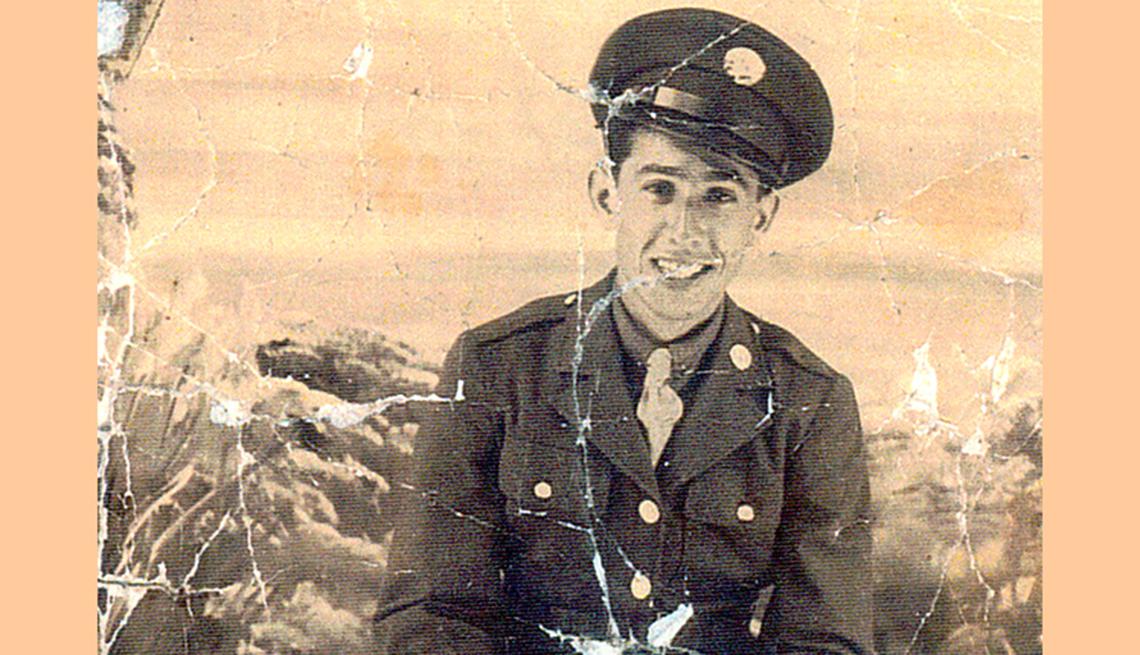 Charles Rodriguez, veterano de la Segunda Guerra Mundial
