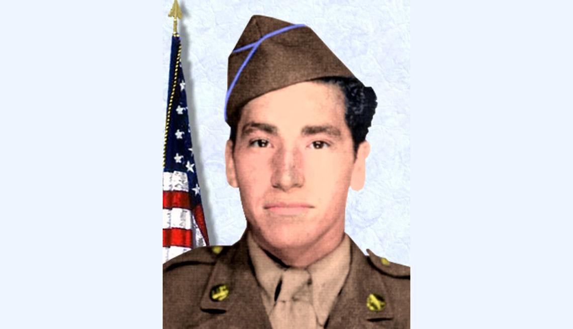 David M. Gonzales, veterano de la Segunda Guerra Mundial