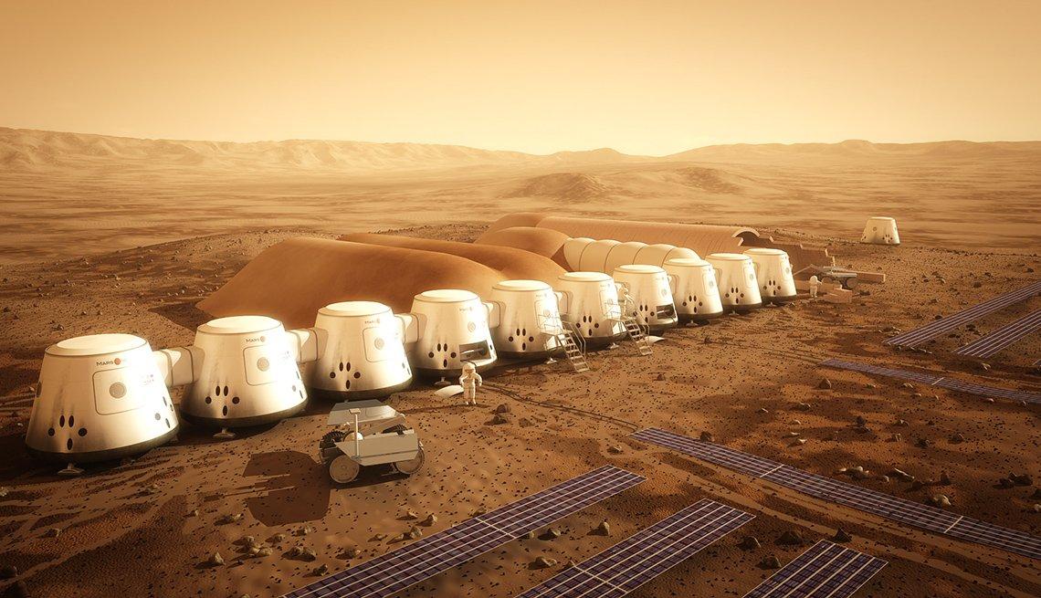 Colonización de Marte está en planes para el 2024