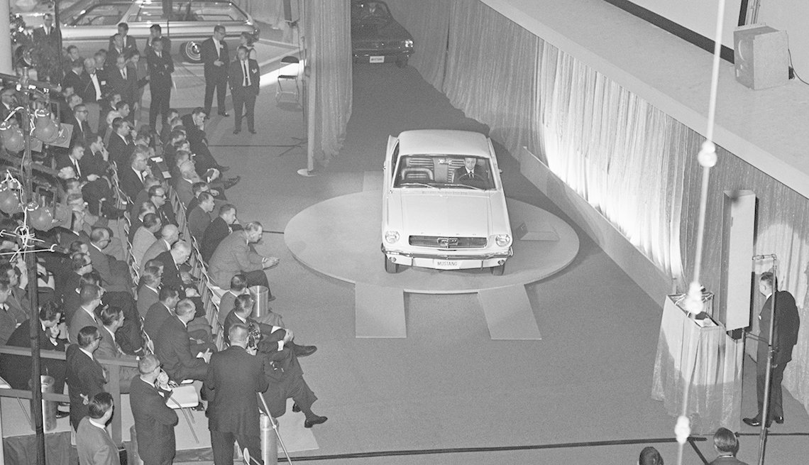 Ford Mustang Unveiled, World's Fair, Ford Mustang: A Great 50-Year Trajectory