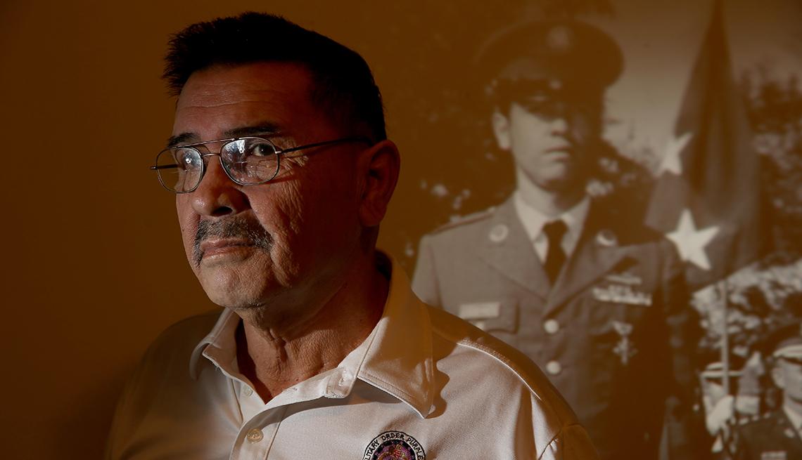 Santiago Erevia, veterano de la guerra de Vietnam
