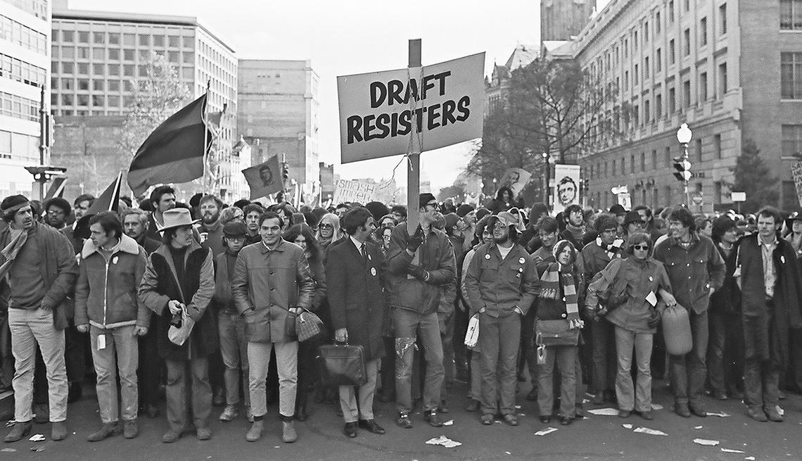 Protestas en contra de la guerra de Vietnam
