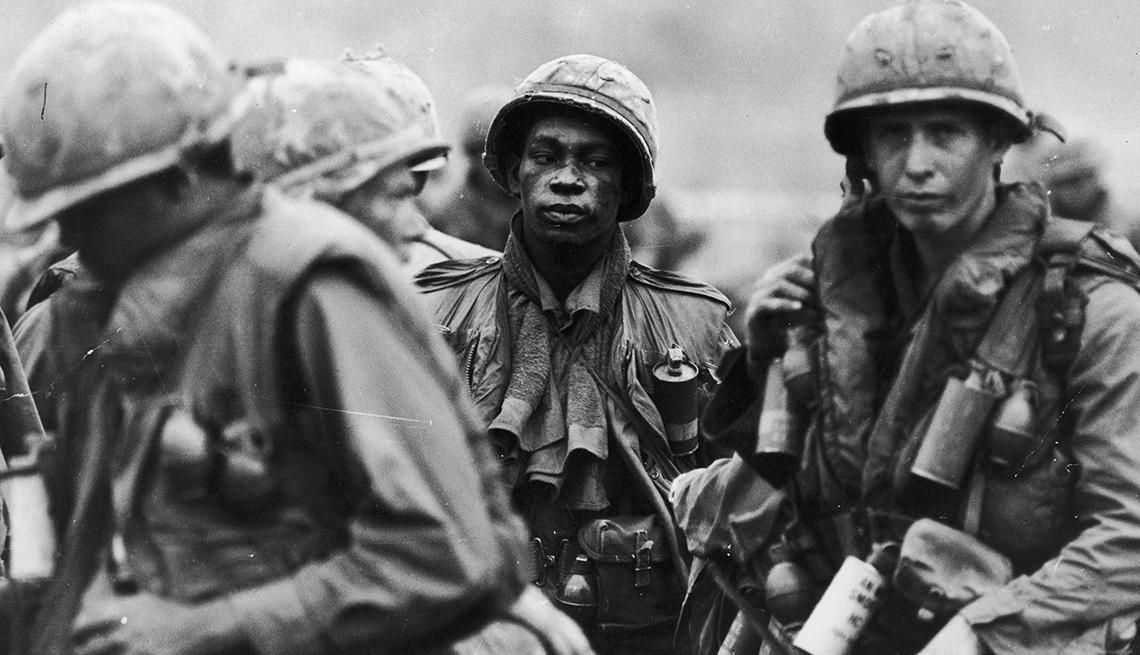 Marinos de Estados Unidos durante la guerra de Vietnam