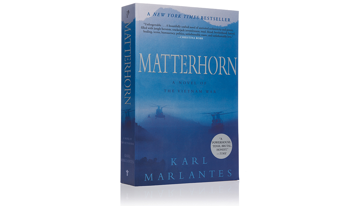 Portada de Matterhorn, libro de Karl Marlantis