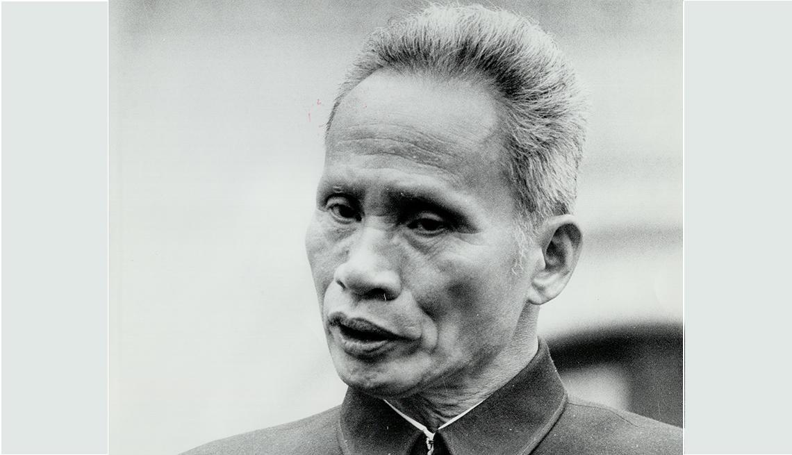 Pham Van Dong, primer ministro de Vietnam del Norte