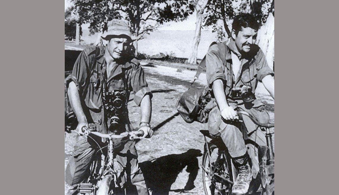 Richard Pyle y Henri Huet en Vietnam