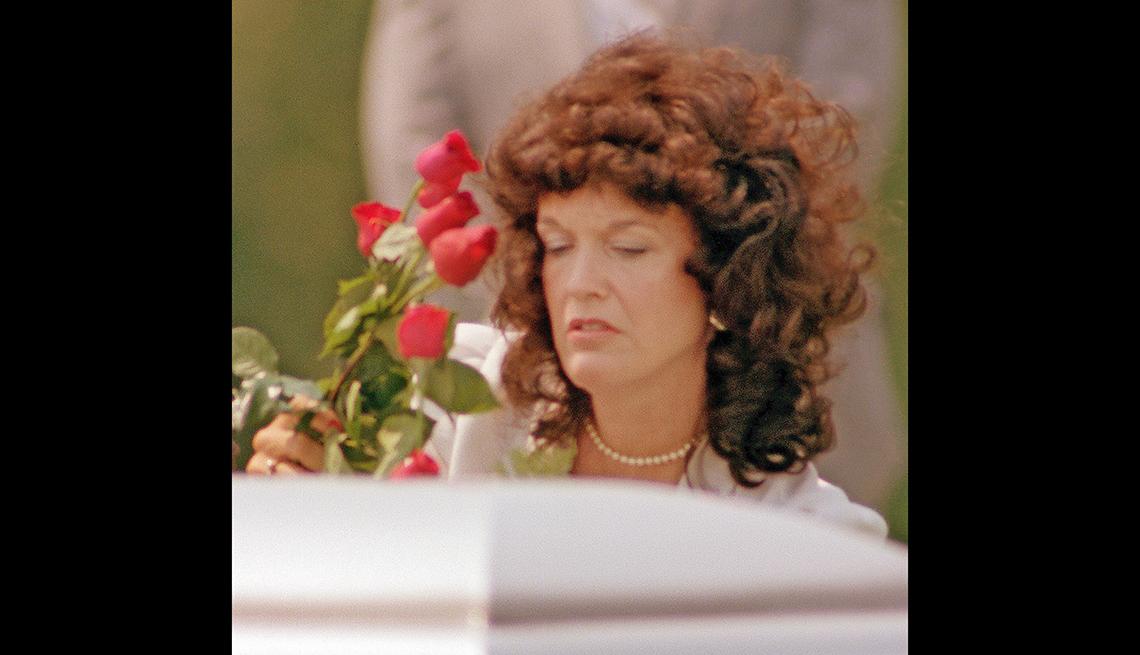Wanda Ruffin, viuda de soldado muerto en la Guerra de Vietnam