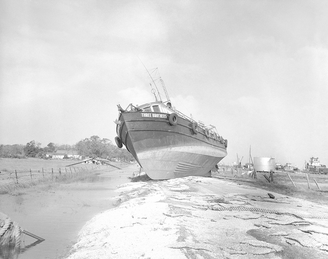 Hurricane Audrey, Boat Washed Ashore