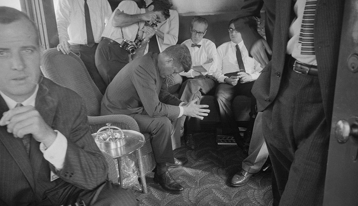 Una mirada tras bastidores a la campaña de John F. Kennedy