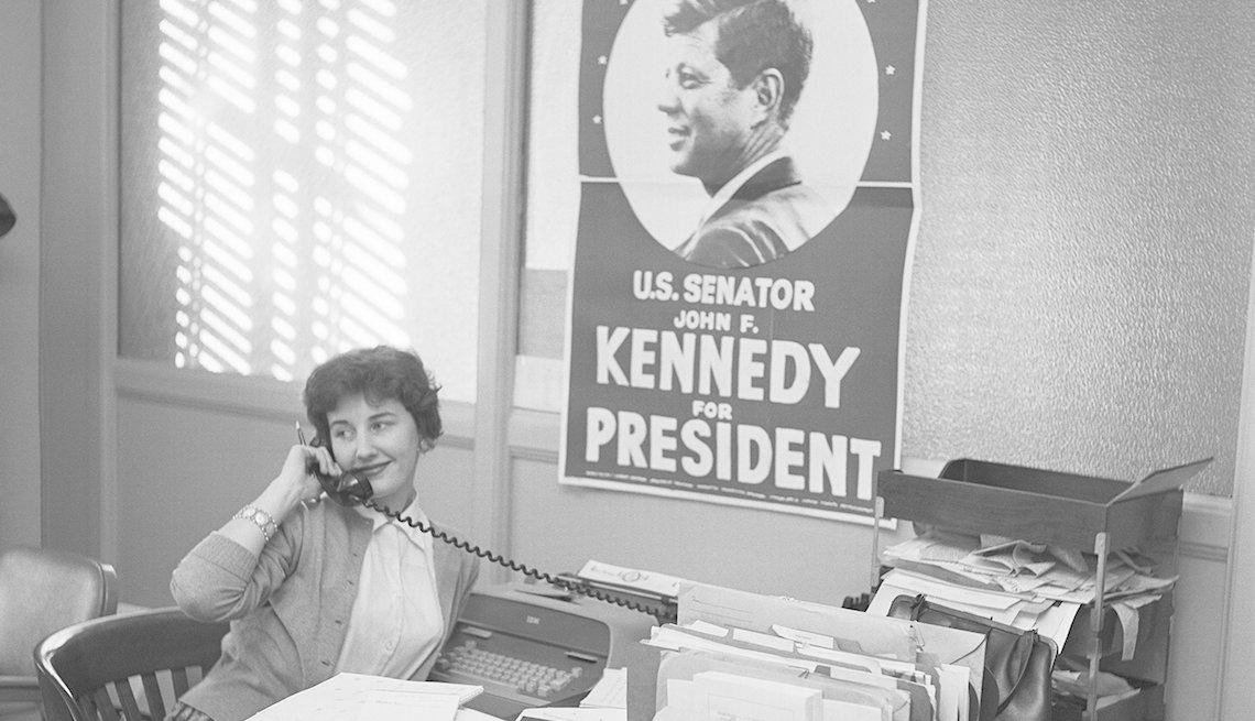 Miembro del personal de la campaña de JFK en Miami