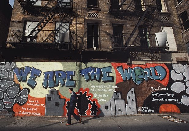 We are the world (Somos el mundo), 1987