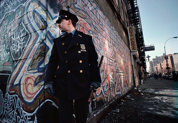 Policía de ronda en El Barrio, 1987